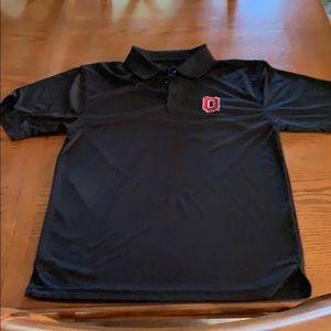 Ohio State Black Polo, size Medium